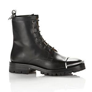 Alexander Wang Black Leather Lyndon Boot